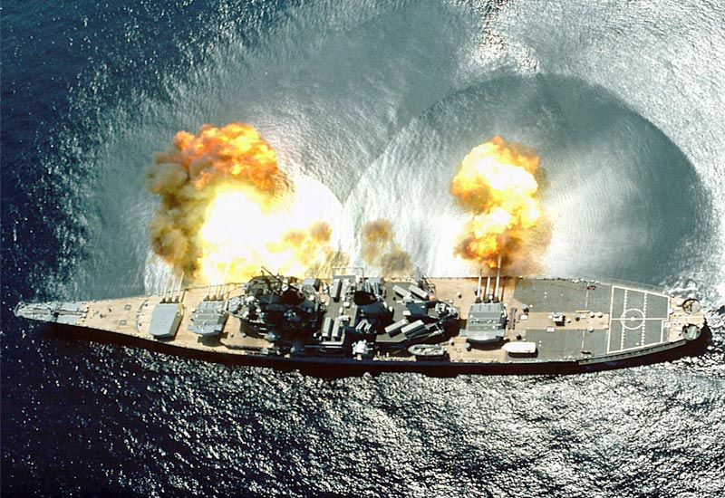 Warship Wednesday: Fun With Turrets
